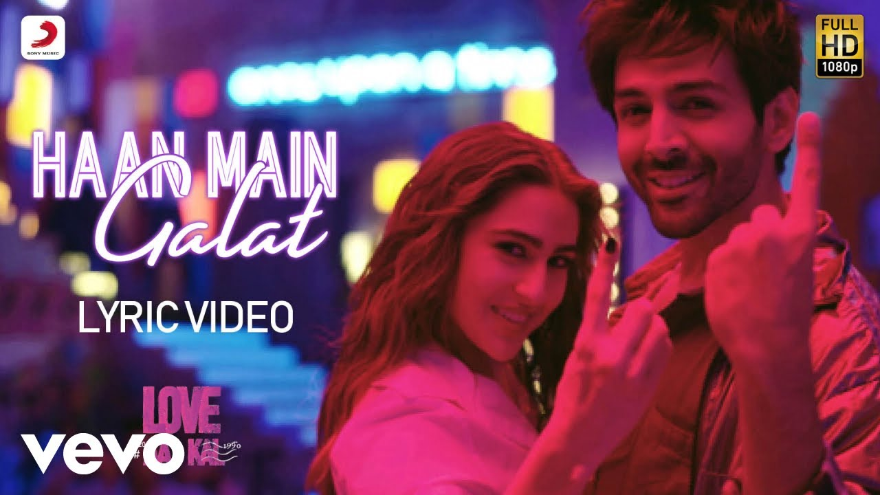 Haan Main Galat Song Lyrics In Hindi And English