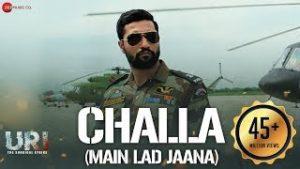 Challa (Main Lad Jaana) song lyrics in english and hindi