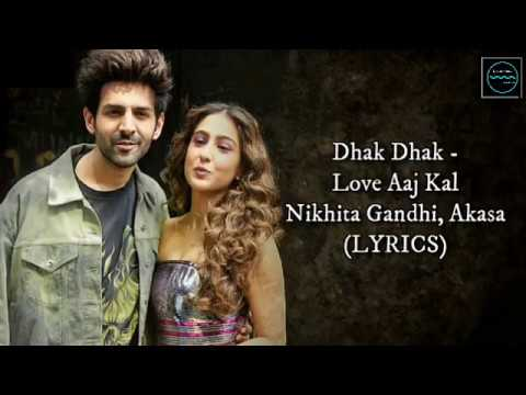 Dhak Dhak Song Lyrics In Hindi And English