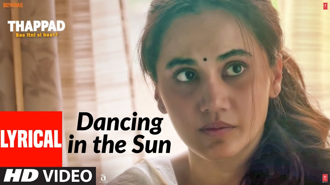 Dancing In The Sun Song Lyrics In Hindi And English