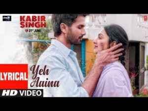 Yeh Aaina hai song lyrics