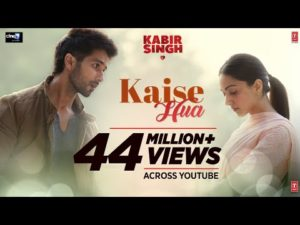 Kaise Hua Kabir Singh Movie Song Lyrics In Hindi And English