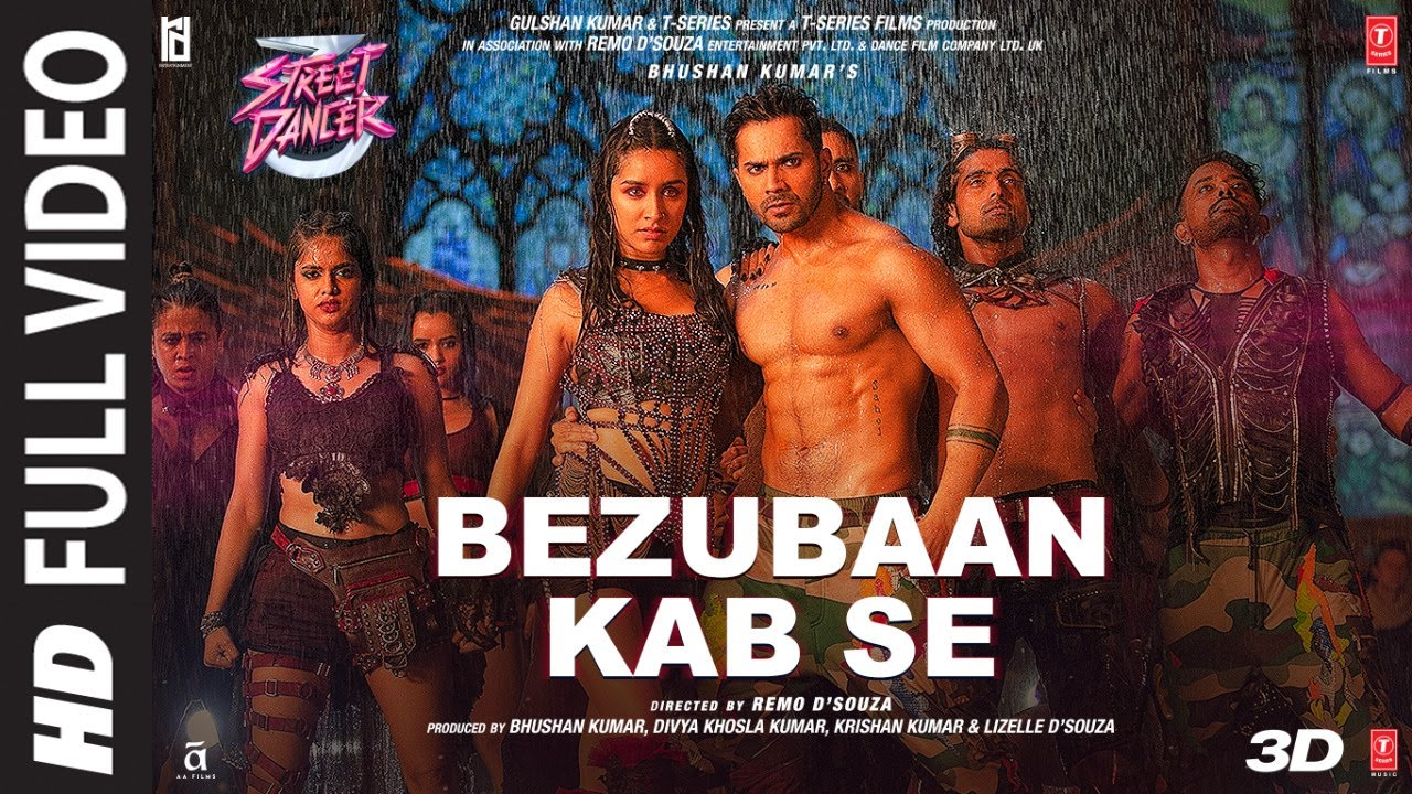 Bezubaan Kab Se Song Lyrics In Hindi And English