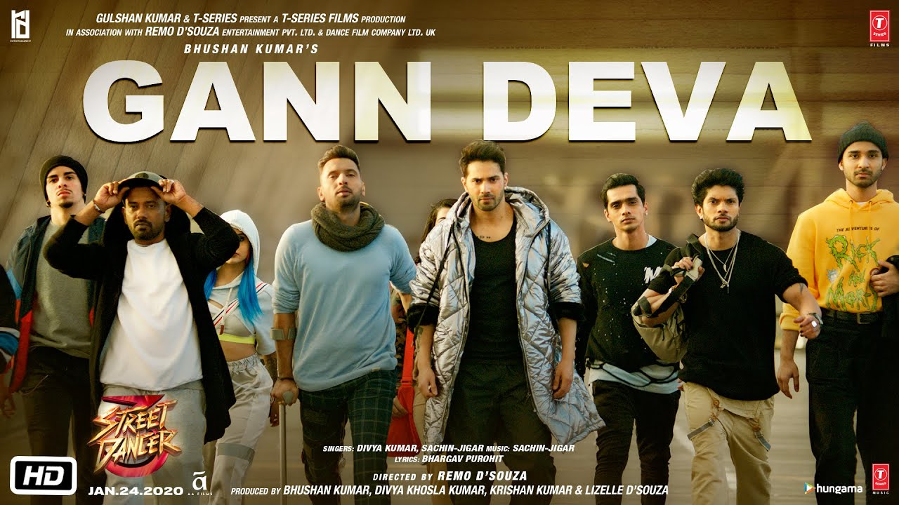 Gann Deva Song Lyrics In Hindi And English