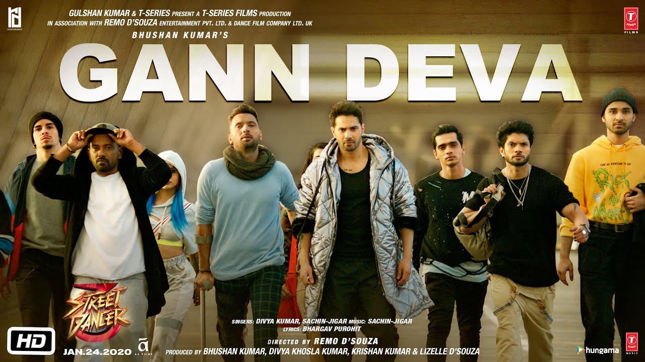 Gann Deva Song Lyrics In Hindi And English