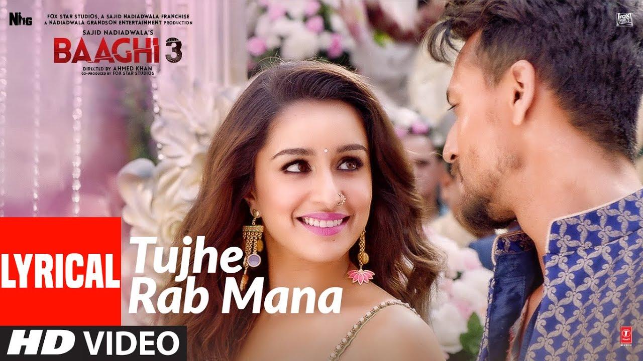 Tujhe Rab Mana Song Lyrics In Hindi And English