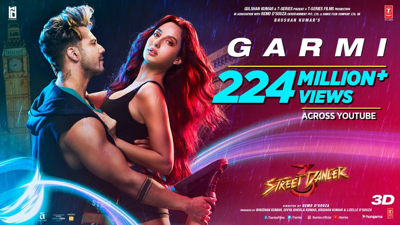Garmi Song Lyrics In Hindi And English