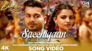 Sacchiyaan Song Lyrics In Hindi And English 2020