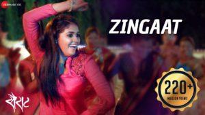 Zing Zing Zingaat Lyrics In Marathi