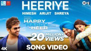 Heeriye Lyrics In Hindi And English 2020