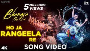 Ho Ja Rangeela Re Song Lyrics In Hindi And English 2020