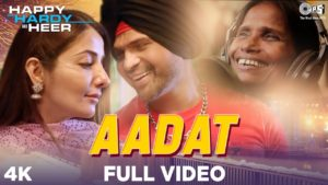 Aadat Lyrics In Hindi And English 2020