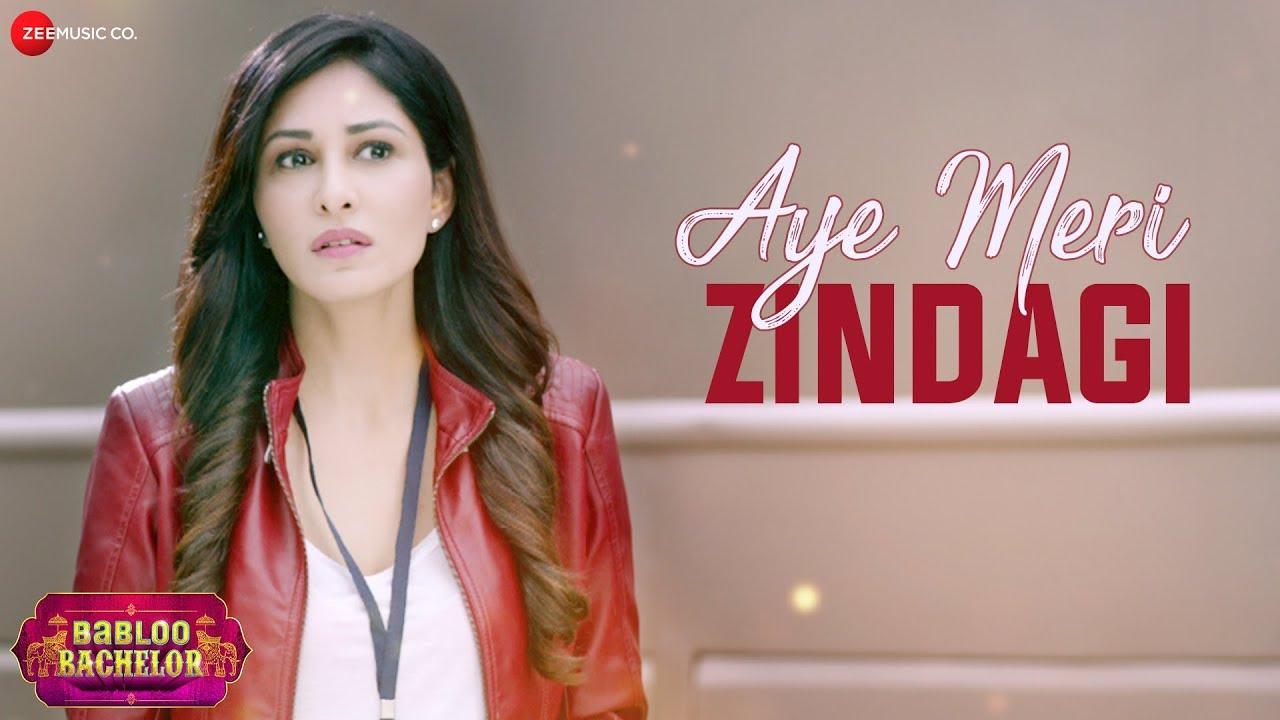 Aye Meri Zindagi Lyrics From Babloo Bachelor Movie